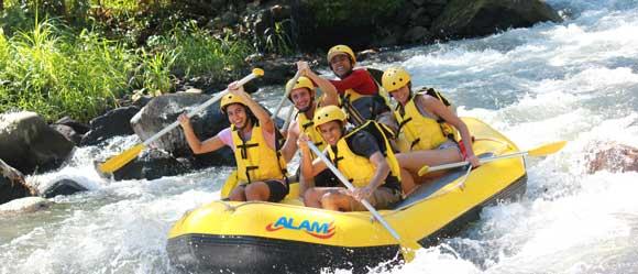Alam White Water Rafting Karangasem Bali