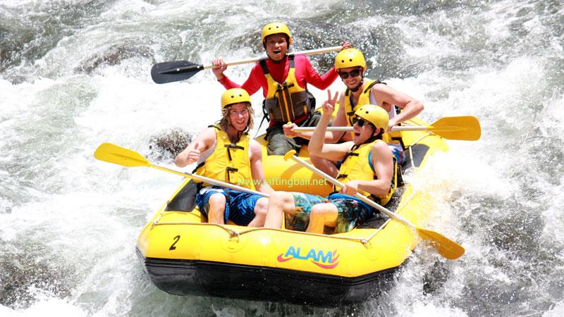 Water Rafting Bali