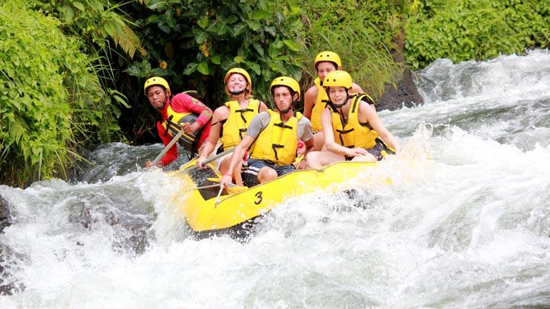 White Water Rafting Class 3