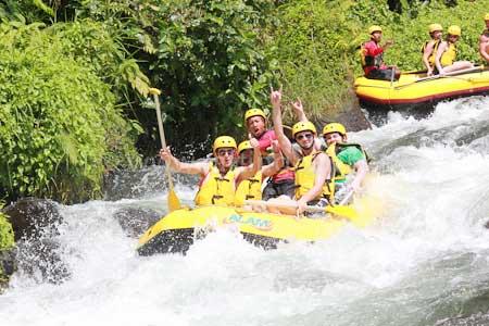 Telaga Waja River Rafting 2