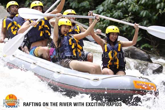 Bali Adventure Tours Rafting On Ayung River Ubud