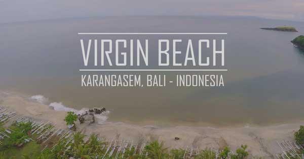 Virgin White Sand Beach Bali