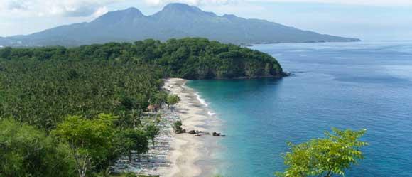 Virgin beach Bali Karangasem