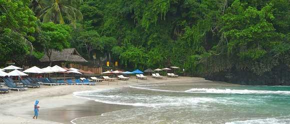 White Sand Beach Bali Perasi Village