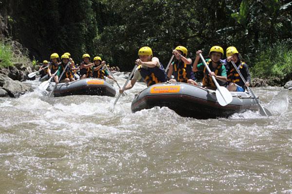 Mason White Water Rafting Ubud