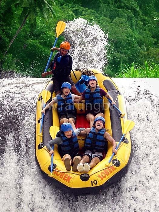 bali sports white water rafting telaga waja river