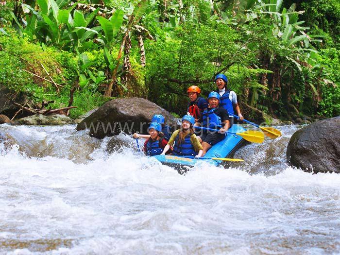 sobek rafting at ayung river