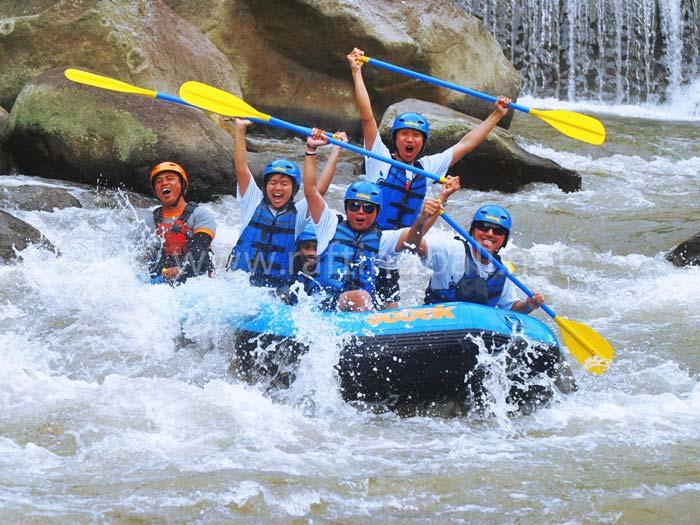sobek rafting ayung ubud