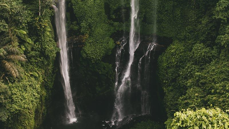 The Most Beautiful Waterfall In Bali