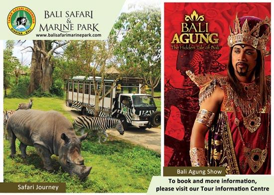 Cultural Show At Safari Marine Park Bali