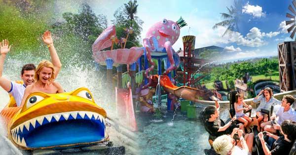 Bali Safari Funzone Water Park Gianyar