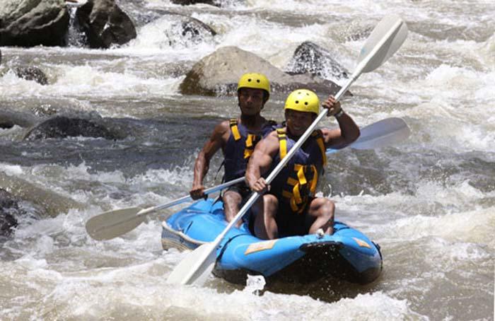 River Kayaking Bali