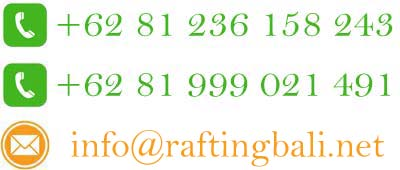 phone contact rafting bali