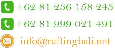 phone contact rafting bali