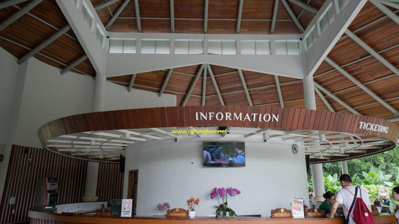 Entrance Ticket Counter Ubud Monkey Forest