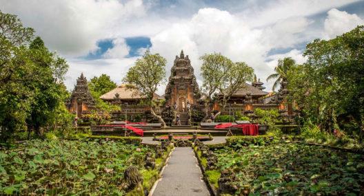 Taman Saraswati Temple Ubud Bali