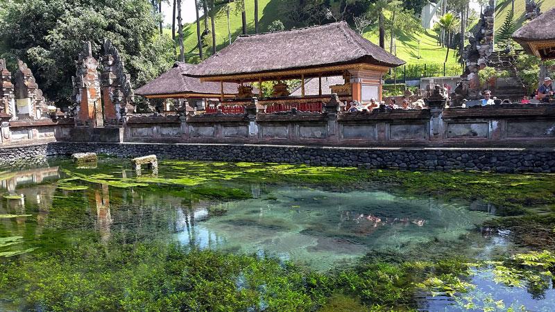 Tirta Empul Temple In Tampak Siring Village