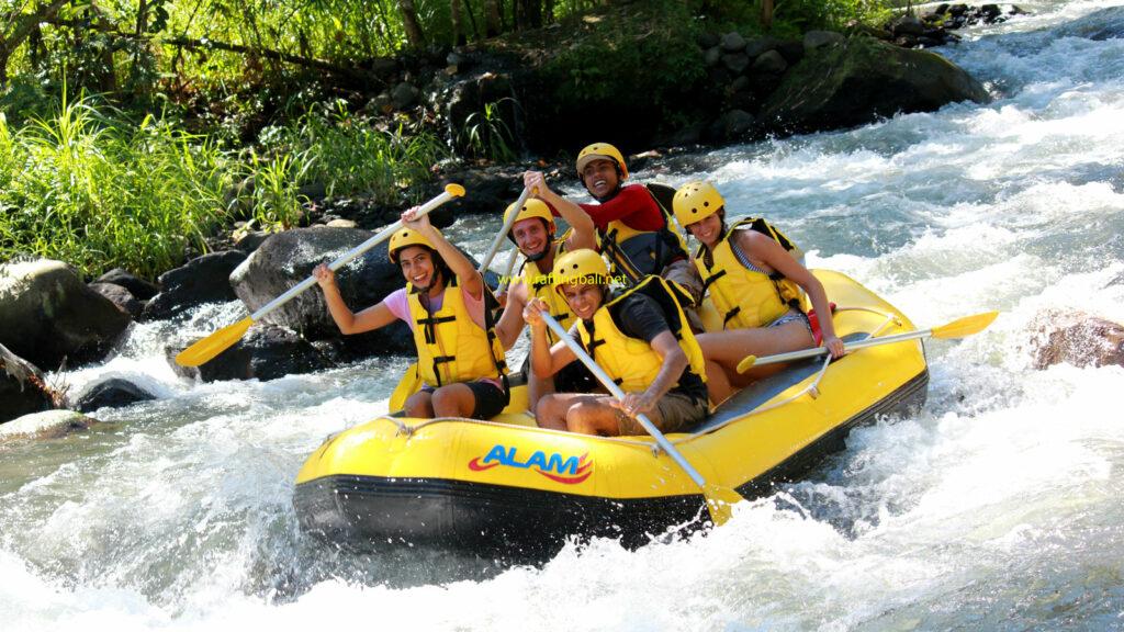 The Alam Rafting Bali