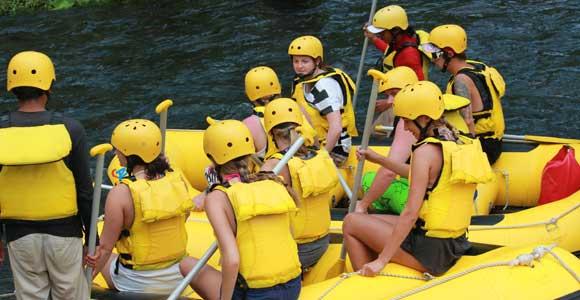 Real Family Fun Telaga Waja Rafting Bali