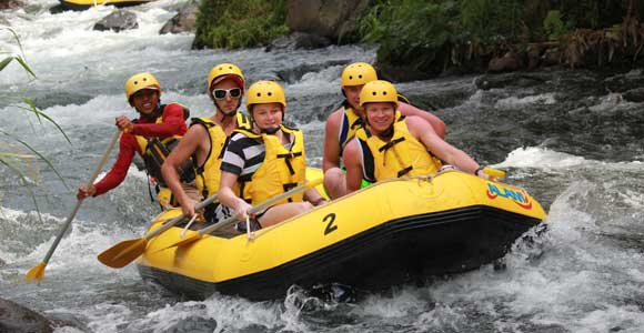 First Time Plan For White Water River Rafting Bali