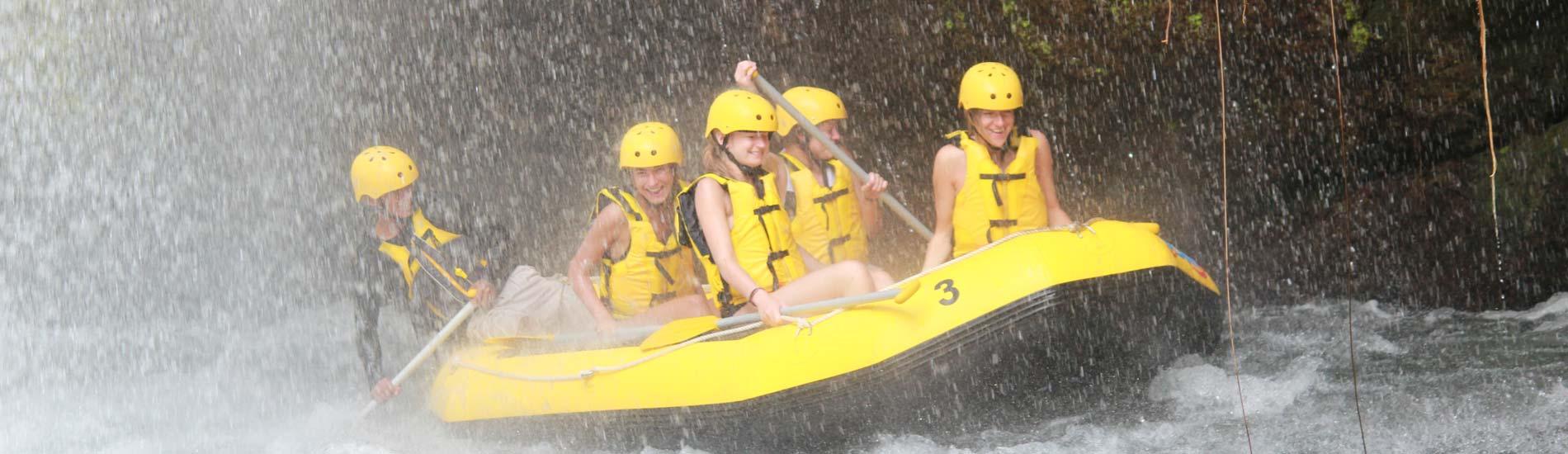 Telaga Waja White Water Rafting Bali