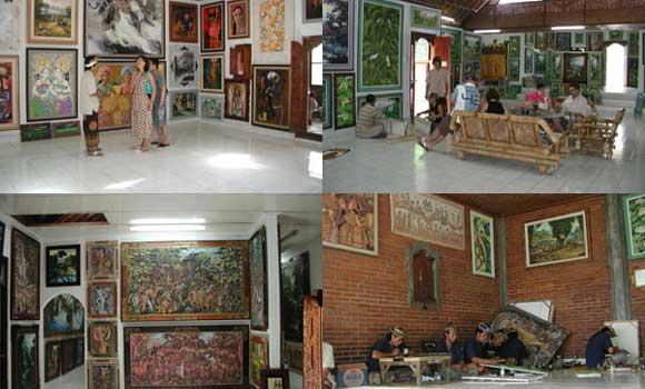 Semar Kuning Art Gallery Ubud