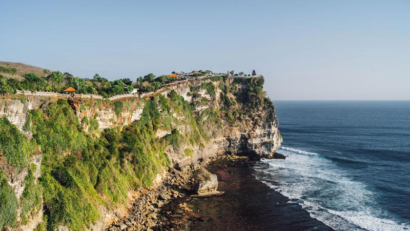 Uluwatu Cliff In Bali