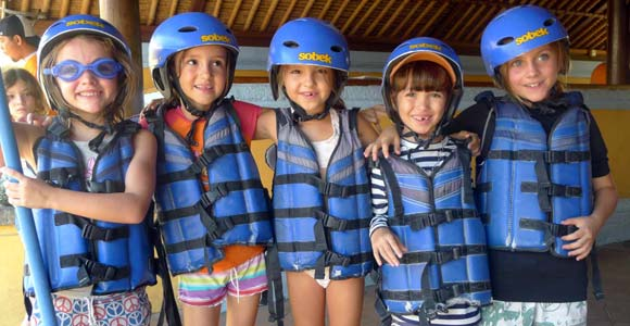 Best River Rafting In Bali For Kids
