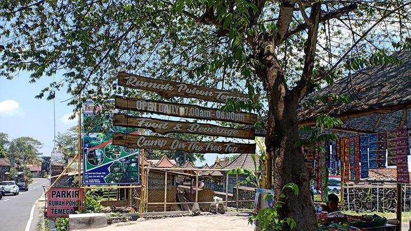 Location Bambu House Karangasem Bali