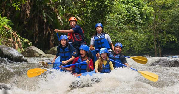White Water Rafting Near Ubud - Bali Budget Travel Guide