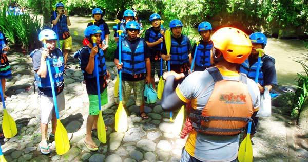 Bali River Rafting Guide