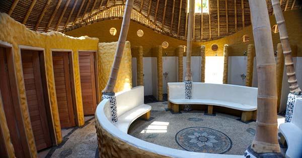 Bali Sobek Rafting Bathroom Finish Point