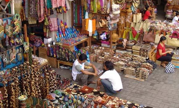Ubud Traditional Art Market In Bali