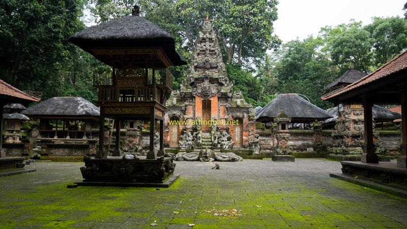 Balinese Temples Inside Ubud Monkey Forest