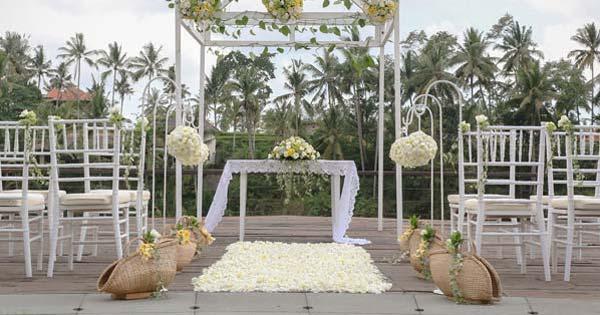Kamandalu Resort Wedding Venue