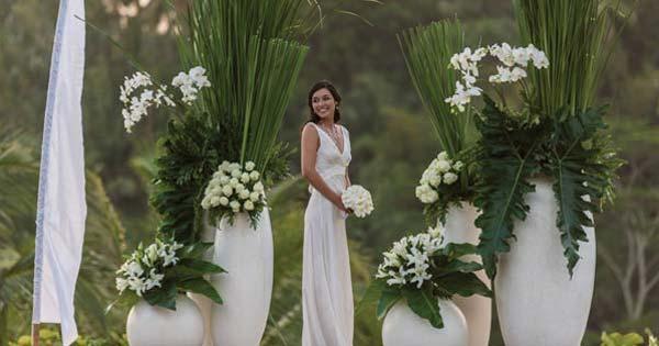 Wedding Venue At Four Seasons Sayan Ubud