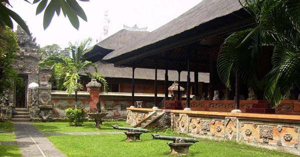 Museum Denpasar Bali Inner Courtyard