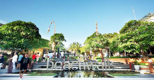 Beach Walk Mall Kuta Bali
