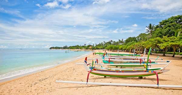 Nusa Dua White Sand Beach Bali