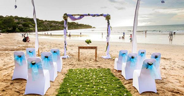 Secret Beach Bali Wedding