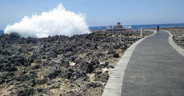 Road Towards Water Blow Bali - Three Days Vacation Itinerary In Nusa Dua Bali
