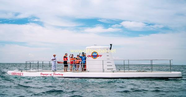 Submarine Cruise Program In Bali Before Diving