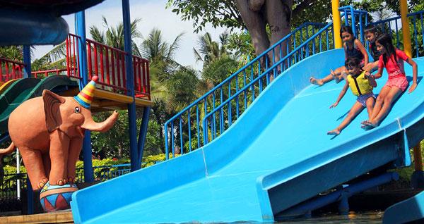 Family Slider Waterpark Kuta Bali