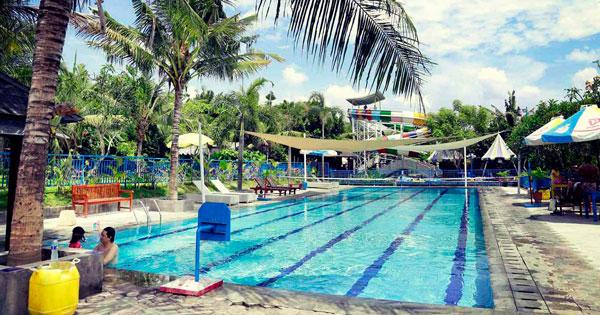 Lap Pool Circus Water Park Bali