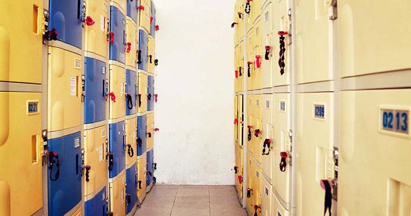 Locker Rental Facility