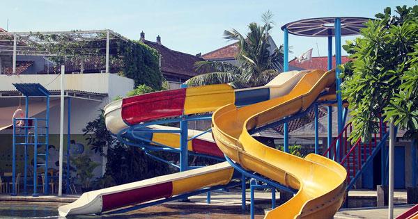 Mini Spiral Slider Kuta Waterpark Bali