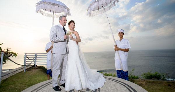 Blue Point Chapel Uluwatu Bali Pre-Wedding Photo