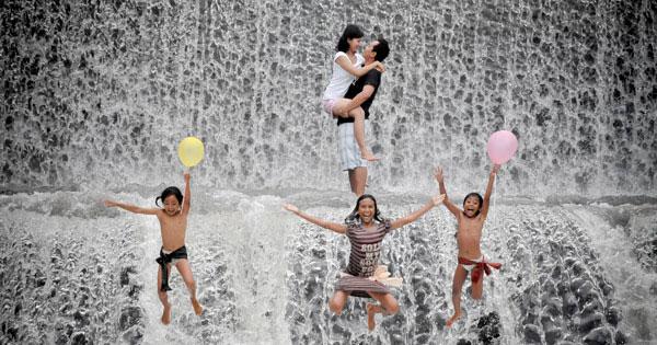 Pre-Wedding Photo Unda River Dam Klungkung