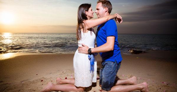 Pre-Wedding Tegal Wangi Beach Jimbaran