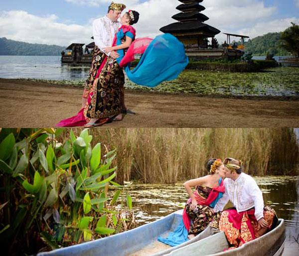 Ulun Danu Temple Bedugul Pre-Wedding